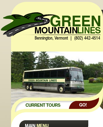 green mountain lines tour bus